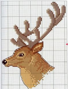 pinterest cross stitch eagle patterns free | The full pattern is from Gallery.Ru