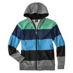 Shaun White Boys Zip-Up Hoodie -  Ebony Transparent.