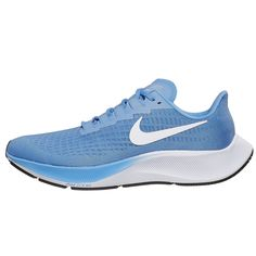 With a new design inspired by the Zoom Fly and Vaporfly, the Nike Zoom Pegasus 37 offers an even softer and springier ride to help you comfortably pick up the pace. - Shop with Free Shipping and Free Returns at Running Warehouse! - #run #running #runner #motivation #habit #goals #training #workout #health #fitness #footwear #shoes #jog #walk #nike #newbalance #hoka #altra #brooks #adidas #marathon #athletic #exercise #style #fashion #outfit #clothes #gym #sneakers Running Clothing, Running Gear, Footwear Shoes, Men's Shoes, Lightweight Running Shoes, Nike Zoom Pegasus, Air Zoom, Types Of Shoes