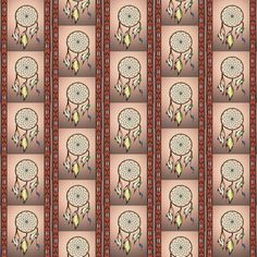 dream catcher  3 fabric by krs_expressions on Spoonflower - custom fabric