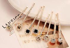 Jewelry Show of DIY Beautiful Rhinestone Hair Clips | PandaHall Beads Jewelry Blog