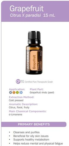 doTERRA Grapefruit Essential Oil Uses ~ To explore and purchase essential oils visit: https://www.mydoterra.com/sarajanelle/#/