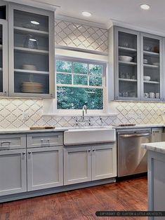 47 best glass back splash images kitchens new kitchen kitchen rh pinterest com