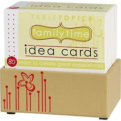 Family Times Table Topics buy this @Ginnie Bennett maybe we can find new things to do together