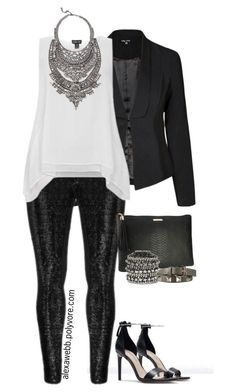 """""""Plus Size - Turn Down for What"""" by alexawebb ❤ liked on Polyvore featuring Zara, Zizzi, DYLANLEX, GiGi New York, Vince Camuto, Valentino, outfit, plussize, plussizefashion and PolyvorePlus"""