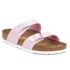 6d5409e2057b Shop for Womens Pearly Rose Sydney Sandals Pink by Birkenstock at ShopStyle.
