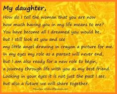1000+ images about So Proud Of My Daughter!!!!! on ... I Am Proud Of My Daughter Quotes
