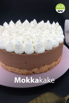 Baking Recipes, Cake Recipes, Dessert Recipes, Norwegian Food, Food Cakes, Fancy Cakes, Let Them Eat Cake, Yummy Cakes, Vanilla Cake