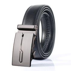>> Click to Buy << Fashion Designer Leather Strap Male Automatic Buckle Belts For Men Authentic Girdle Trend Men's Ceinture Mens Belts Luxury #Affiliate