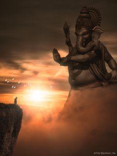 Ganesha, Photo, Illustration, Art Drawings, Greek Statue, Artist, Photo Manipulation, Deities, Statue
