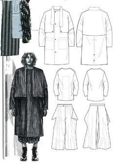 Fashion Portfolio - Development of textile printing and pattern designs - fashion sketch .Fashion Portfolio - Development of textile printing and pattern designs - fashion sketchbook;