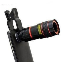 Get better picture with this universal clip zoom mobile phone telescope lens camera. Transform your smartphone camera overnight with this amazing Clip-on Smartphone Lens. With high-quality optics, it multiples the original focal length by for s. Iphone 5s, Apple Iphone, Mobile Camera Lens, Phone Lens, Sony Phone, Camera Phone, Pro Camera, Tablet Phone, Tips