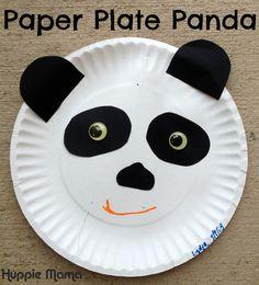 10 Zoo Animal Preschool Crafts & paper plate monkey mask | Art class: paper plates | Pinterest ...