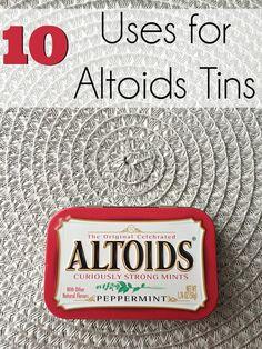 10 uses for Altoids tins