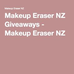 Remove makeup effortlessly using just water with the Makeup Eraser! Gentle and long lasting, its the natural way to remove of your makeup. Makeup Eraser Cloth, Makeup Remover, Makeup Yourself, Cleanser, Giveaways, How To Remove, Make Up Remover, Cleaning Supplies, Cleanses