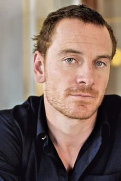 "--Michael Fassbender's eyes are saying, ""Yes, Christian Grey is based on me."""