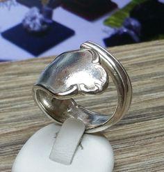 Nostalgischer Ring  Silberbesteck 18,7 mm SR533 von Atelier Regina  auf DaWanda.com