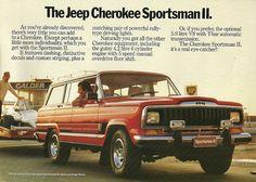 Vintage Jeep Cherokee