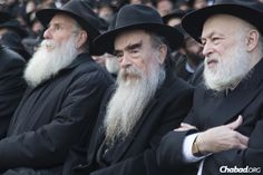 Thousands of Chabad-Lubavitch Rabbis in Annual Photo - Group portrait at the Kinus Hashluchim, the International Conference of Chabad-Lubavitch Emissaries - Chabad-Lubavitch News