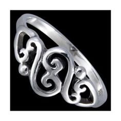 Silver ring, esses