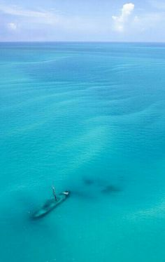 Remains of the Atocha, From a Seaplane, Near Dry Tortugas