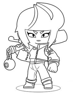Coloring page of Brawl stars to print for free in 2020 ...