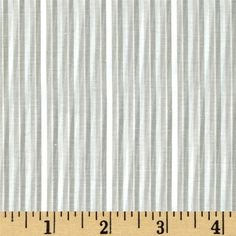 Yarn Dyed Stripe Shirting Stripes Grey/Off White from @fabricdotcom  This shirting fabric is lightweight, soft and features a yarn dyed stripe design of shimmer white, grey and beige. Perfect for shirts, or gathered skirts and dresses.