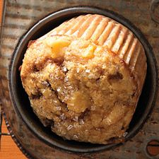 Breakfast today...I think so. Time to get baking. Spiced Peach Muffins: King Arthur Flour  Update: Dereky likes them! Make again.
