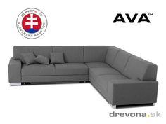 Rohová sedačka pravá šedá AVA FAMM Couch, Furniture, Home Decor, Settee, Decoration Home, Sofa, Room Decor, Home Furnishings, Sofas
