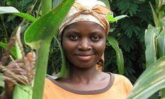 Agweig Pauline, 28, is a budding poultry farmer in Bamenda, the capital of Cameroon's Northwest region