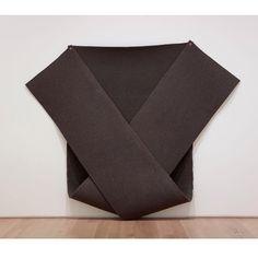 Robert Morris, 1976 Jenny Holzer, Cool Art, Sculpture, Instagram Posts, Minimal, Felt, Places, Art, Contemporary Art