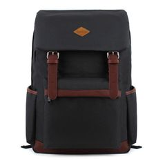 Amazon.com: EcoCity Vintage Stlye Cool Backpack for School Casual Laptop Daypack College Back Packs for Men/Women (Black): Clothing