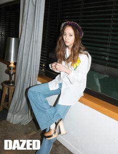 2015.04, Dazed and Confused, f(x), Krystal