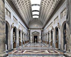 Massimo Listri, Braccio Nuovo (Musei Vaticani).  Città del Vaticano - Roma