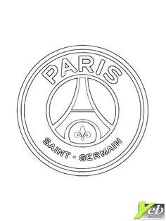 Coloriage - Logo du paris saint germain - dans la catégorie ...