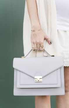 Muted+Moment | Loeffler Randall Rider Bag from @samanthahutch