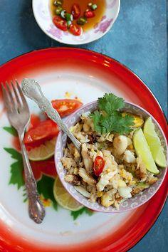 Thai Crab Fried Rice. #thaifood #crab #rice
