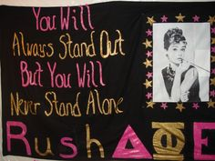 such a cute rush poster!