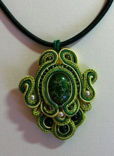Suzanne C. Suber, French-born American jewelry designer, specializes in classic couture hand-embroidered soutache jewelry that is surprisingly lightweight and comfortable to wear. Description from frenchmermaidcollection.blogspot.gr. I searched for this on bing.com/images