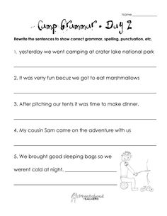 capitalization worksheets capitalization practice worksheet free printable educational. Black Bedroom Furniture Sets. Home Design Ideas
