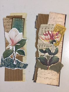 Excited to share this item from my shop: Two raggedy junk journal tuck spots I wish it would be Christmas all year long! Journal Covers, Journal Pages, Junk Journal, Notebook Covers, Journal Art, Glue Book, Scrapbook Journal, Handmade Journals, Paper Tags