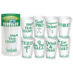 Golf Party Cups