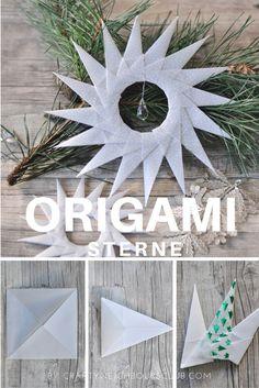 Einen Weihnachtsstern zu falten ist ganz einfach! Mit unserer Anleitung, gelingt ein Origamistern aus feinem Pergament selbst Kindern ganz schnell