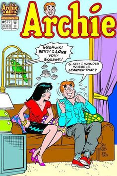 Archie Comic Books. I read these and many other comic books loved them!