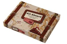 All Aboard Around the World Train Game, by Talking Tables, at John Lewis (www.johnlewis.com)