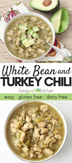 White Bean and Turkey Chili is one of my favorite meals for an easy and quick weeknight dinner. This tried and true recipe using ground turkey, white beans, and salsa verde is the best for a delicious Quick Meals To Make, Quick Weeknight Dinners, Easy Meals, Recipes Using Ground Turkey, Ground Turkey Soup, Ground Turkey Meal Prep, White Bean Turkey Chili, Bean Chili, Cena Paleo