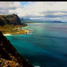 Makapu'u lighthouse trail. Oahu Hawaii.