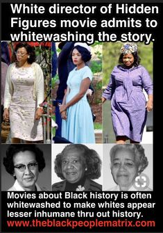 Because these women were treated much more horribly than the movie deplicted.
