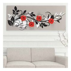 Titi Canvas Wall Art, Concept Art, Art Projects, Arts And Crafts, Clip Art, House Design, Flowers, Painting, Buddha