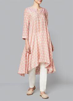 Anita Dongre | Blush Erisha Tunic | Shop Tunics at strandofsilk.com